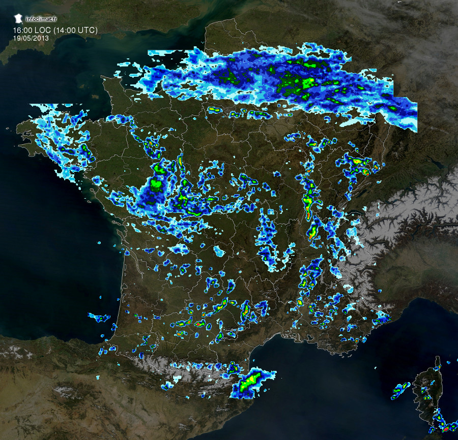 Images radar Infoclimat