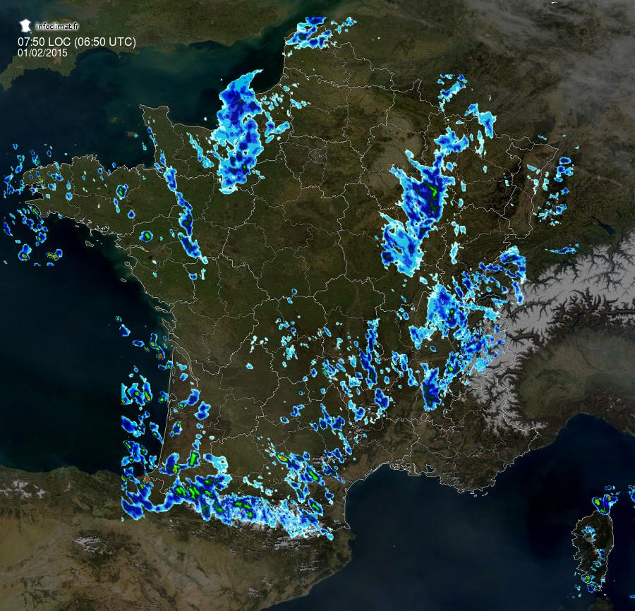 Images radar Infoclimat