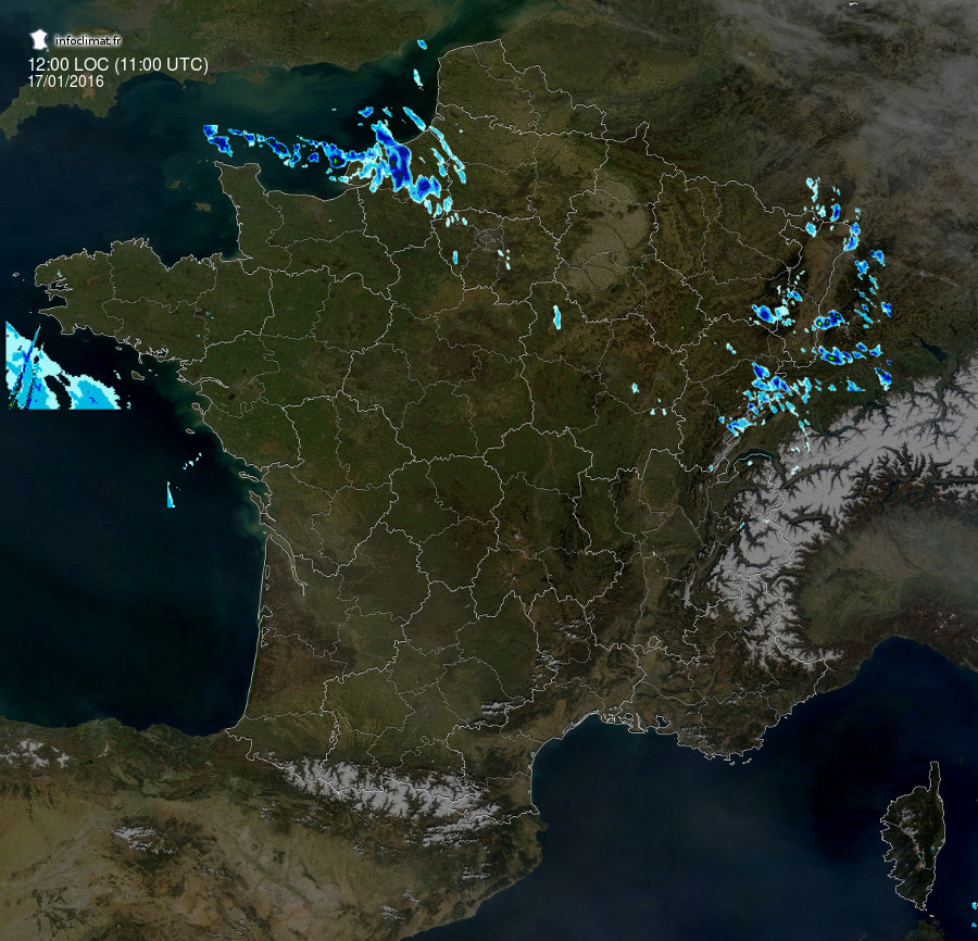 images satellites en temps reel, observation