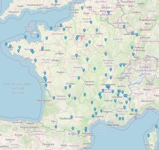 Stations intégrées en 2020